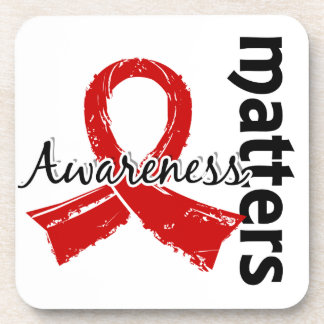 Awareness Matters 7 Blood Cancer Beverage Coasters