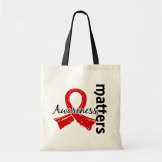 Awareness Matters 7 Blood Cancer Budget Tote Bag