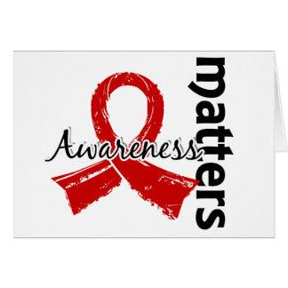 Awareness Matters 7 Blood Cancer Greeting Card