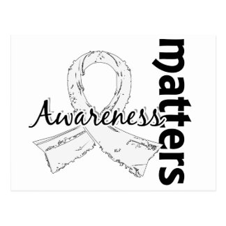 Awareness Matters 7 Bone Cancer Postcard