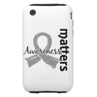 Awareness Matters 7 Brain Cancer iPhone 3 Tough Cover
