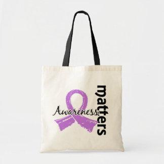 Awareness Matters 7 Cancer (General) Tote Bag