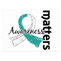 Awareness Matters 7 Cervical Cancer Postcard