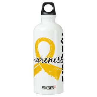 Awareness Matters 7 Childhood Cancer Aluminum Water Bottle