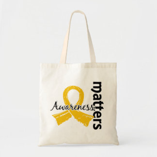 Awareness Matters 7 Childhood Cancer Tote Bag