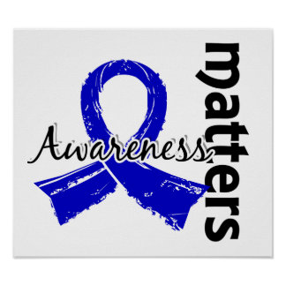 Awareness Matters 7 Colon Cancer Posters