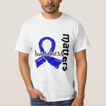 Awareness Matters 7 Colon Cancer T-Shirt