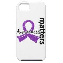 Awareness Matters 7 Cystic Fibrosis iPhone SE/5/5s Case