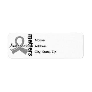 Awareness Matters 7 Diabetes Label