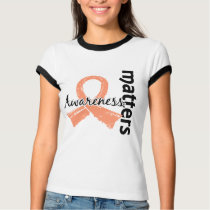 Awareness Matters 7 Endometrial Cancer T-Shirt