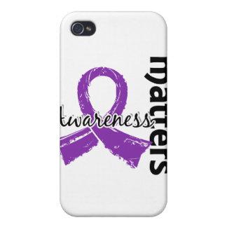 Awareness Matters 7 Epilepsy iPhone 4 Case