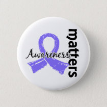 Awareness Matters 7 Esophageal Cancer Pinback Button
