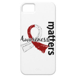 Awareness Matters 7 Head and Neck Cancer iPhone SE/5/5s Case