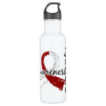 Awareness Matters 7 Head and Neck Cancer Stainless Steel Water Bottle