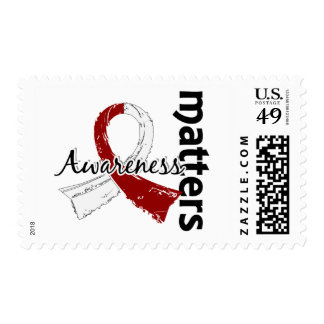 Awareness Matters 7 Head and Neck Cancer Stamp