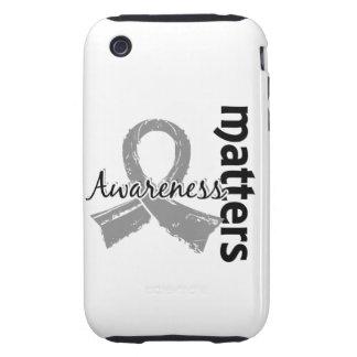 Awareness Matters 7 Juvenile Diabetes iPhone 3 Tough Cover