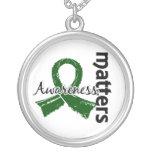 Awareness Matters 7 Liver Disease Necklace