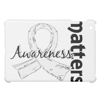 Awareness Matters 7 Lung Cancer Cover For The iPad Mini