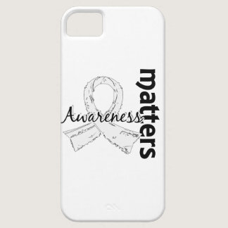 Awareness Matters 7 Lung Cancer iPhone SE/5/5s Case