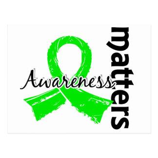 Awareness Matters 7 Lymphoma (Non-Hodgkin's) Postcard