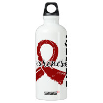 Awareness Matters 7 Multiple Myeloma Aluminum Water Bottle