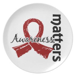 Awareness Matters 7 Multiple Myeloma Dinner Plate