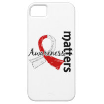 Awareness Matters 7 Oral Cancer iPhone SE/5/5s Case