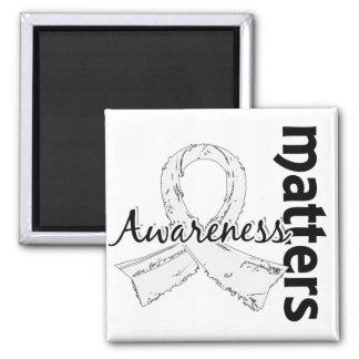 Awareness Matters 7 Retinoblastoma Fridge Magnets
