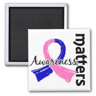 Awareness Matters 7 SIDS 2 Inch Square Magnet