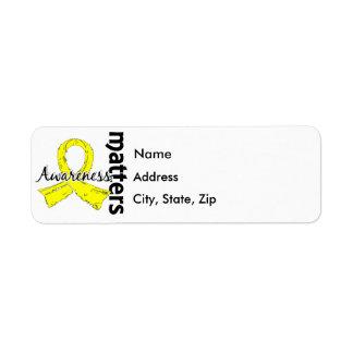 Awareness Matters 7 Testicular Cancer Label