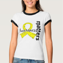 Awareness Matters 7 Testicular Cancer T-Shirt