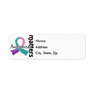 Awareness Matters 7 Thyroid Cancer Label