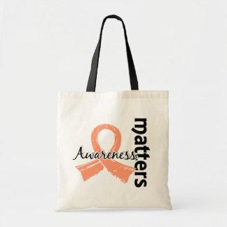Awareness Matters 7 Uterine Cancer Tote Bag