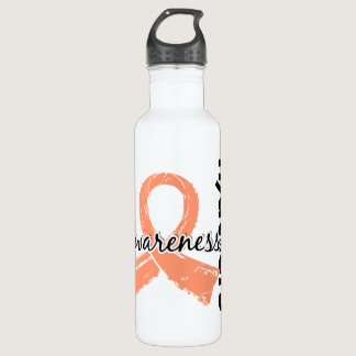 Awareness Matters 7 Uterine Cancer Water Bottle