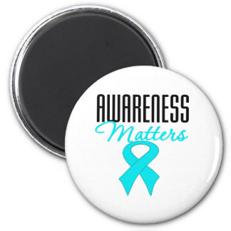 Awareness Matters Addiction Recovery Fridge Magnet