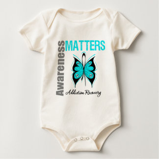 Awareness Matters Butterfly Addiction Recovery Bodysuit