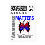 Awareness Matters Butterfly Pulmonary Fibrosis Stamps