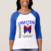 Awareness Matters Butterfly Pulmonary Fibrosis T-Shirt