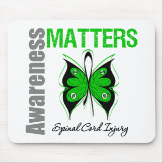 Awareness Matters Butterfly Spinal Cord Injury Mouse Pad