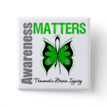 Awareness Matters Butterfly Traumatic Brain Injury Button
