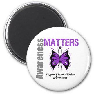 Awareness Matters Domestic Violence Refrigerator Magnet