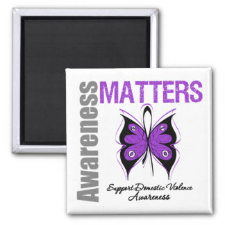 Awareness Matters Domestic Violence Magnet
