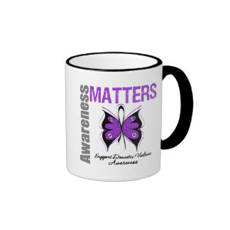 Awareness Matters Domestic Violence Coffee Mugs