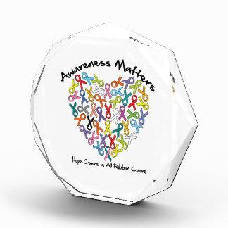 Awareness Matters Hope Comes In All Ribbon Colors Award