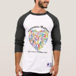 Awareness Matters Hope Comes In All Ribbon Colors T-Shirt