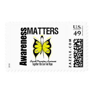 Awareness Matters Suicide Prevention Postage Stamp