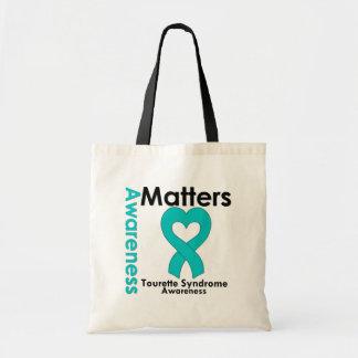 Awareness Matters Tourette Syndrome Canvas Bag