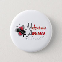 Awareness Melanoma Pinback Button