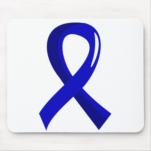 Awareness Ribbon 3 Dysautonomia Mouse Pad