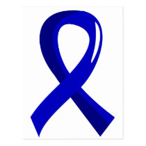 Awareness Ribbon 3 Dysautonomia Postcard